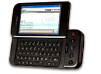 T-Mobile G1 with slide keyboard